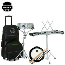 Mapex MCK1232DP Snare Drum/Bell Percussion Kit with Rolling Bag, Pad, Sticks
