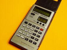 DATAMATH CALCULATOR MUSEUM: Timex Timemate - RARE CALCULATOR HISTORY 1978 (!)