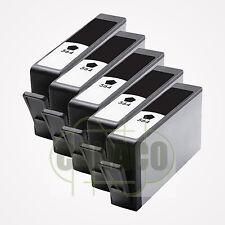 5 New Black 564 564XL Ink Cartridge for HP Plus-B209a C5324 D5440 B109 5520 7520