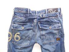 "G-Star blue jeans Waist 27"" x Leg 34"" mens Elwood Heritage Embro Tapered WMN"
