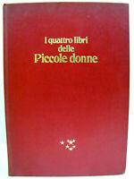 """Cartonato """"I quattro libri delle Piccole Donne"""" 1972 Mursia - Louisa M. Alcott"""