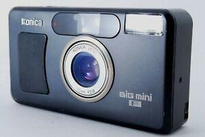 【EXCELLENT】 Konica BiG mini F Limited Black 35mm F/2.8 Film Camera From JAPAN