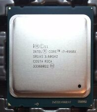 Intel Core i7-4960X Extreme Edition 3.6 GHz Hexa-core 6 SR1AS up to 4.00 GHz