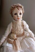 """OOAK artist mini doll """"Milie"""""""