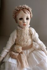 "OOAK artist mini doll ""Milie"""
