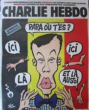 CHARLIE HEBDO No 1236 de MARS 2016 RISS ATTENTAT BELGIQUE STROMAE PAPA OU T'ES ?