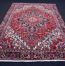 Alter Orient Teppich Beige 320 x 238 cm Rot Perserteppich Old Red Carpet Tappeto