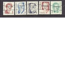 PENNSYLVANIA Precancels: Set of Great Americans - Hyndman 841