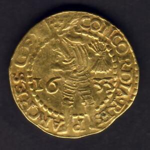 Netherlands - Gelderland. 1633 Gold Ducat..  VF - Trace Lustre