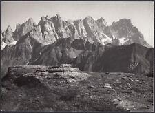 YZ1129 Italia - Luogo da identificare - Dolomiti - Foto d'epoca - 1959 old photo