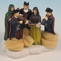 """Lang & Wise Williamsburg Collections Colonial Williamsburg """" Carolers """" 1998"""