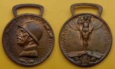 GUERRA PER L'UNITA' D'ITALIA 1915 - 1918 CONIATA NEL BRONZO NEMICO BELLA