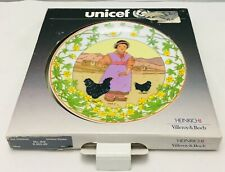 Villeroy & and Boch OUR CHILDREN UNICEF No2 Tibet plate BOXED