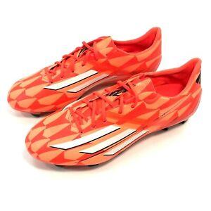 SAMPLE Adidas F30 FG Firm Ground Soccer Cleat Women's US 7 Orange M25941