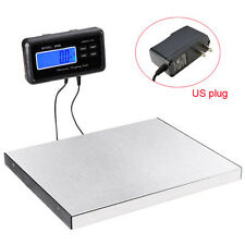 660lbs LCD AC Digital Floor Bench Scale Postal Platform Shipping/Pet 300KG Weigh