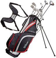 Wilson ProStaff Stretch XL Golf Komplettset 2020 Eisen 6-SW Holz 3 Hybrid 5