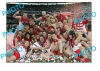 2005 SYDNEY SWANS PREMIERSHIP TEAM GRAND FINAL WIN LARGE A3 PHOTO 1