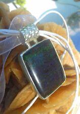 pendentif andamoka opale naturelle argent 925