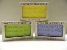 Lot 46 Savons de Marseille 100% VEGETAL 125 Gr parfumés avec boite individuelle