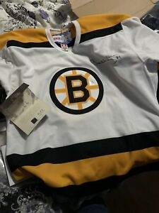 Autographed Bobby Orr jersey