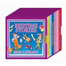 BEDTIME STORIES MINI LIBRARY SET 6 BOARD CHILDRENS BOOKS CLASSIC FAVOURITES