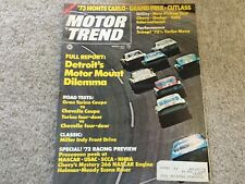 1972 GMC Sierra, International 1110, Dodge Adventurer, Chevy Cheyenne Magazine