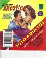 """RELATOS EROTICOS"" mexican comic SEXY GIRLS, SPICY HISTORIES #18"