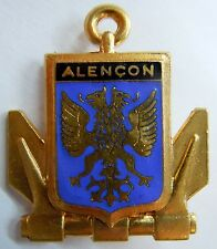 ALENCON  insigne militaire France Marine Nationale authentique