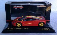 "Minichamps 1:43 McLaren F1 ""HEKORSA - Edition"" red and yellow"
