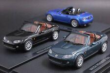 Ebbro 1:43 scale Mazda MX-5 Miata Roadster Die Cast Model (One Single Piece)