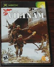 Xbox. Conflict Vietnam. (NTSC USA/CAN)