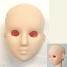 Obitsu OOAK 1/6 Female Dollfie Figure Option Doll Head 06 Open Eye White Skin
