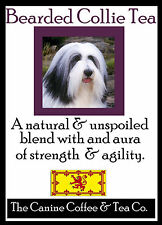 Bearded Collie Tea perfect English Breakfast flavor in collectible tin