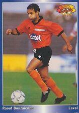 N°202 BOUZAIENNE LAVAL LAVALLOIS CARTE PANINI FOOTBALL 95 FRANCE CARDS 1995