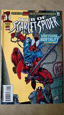 Web Of Scarlet Spider #1 1St Print Marvel Comics (1995)