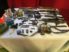 Military Action Figure weapons,accessories, Helmets, Knives.etc. 53 Pieces