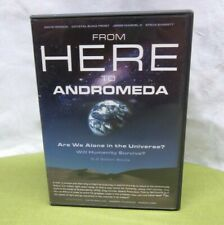 FROM HERE TO ANDROMEDA documentary extraterrestrial life DVD crop circles UFOs