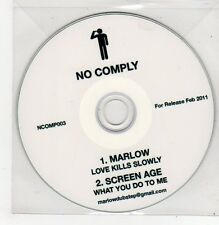 (FF156) Marlow / Screen Age, split single - 2011 DJ CD