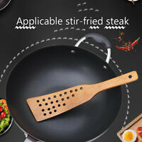 Wooden Spatula Wood Shovel For Non-stick Pan Rice Spoon Kitchen Cooking Tool YK