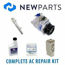 Mercedes W164 GL320 2008 AC A/C Repair Kit With NEW 6 Poly Compressor And Clutch