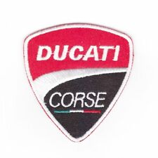patch ducati corse, broder et thermocollant 6cm