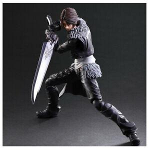 SQUARE ENIX Dissidia Final Fantasy Squall Leonhart Figure with Box Play Arts Kai