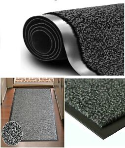 Heavy Duty Barrier Door Mat Rug Non Slip Washable Large Small Hard Wearing New