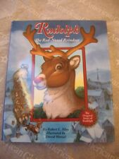 """18"""" American Girl Doll RUDOLPH RED NOSED REINDEER BOOK CHRISTMAS Doll Size NEW"""