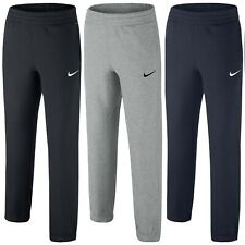 New Boys Junior Kids Nike Fleece Tracksuit Jogging Bottoms Joggers Sweat Pants