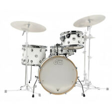 DW Design Series Frequent Flyer Drum Kit Gloss White