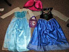 Disney Princesa Elsa y Anna (congelado) Vestido Encantador Ropa 6-7-8y