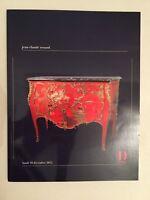 Catálogo De Venta Jean-Claude Zorro Bisutería, Libros, Art Asia Drouot 2012