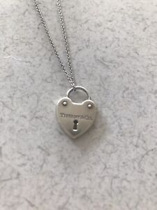 tiffany and co heart pendant - Necklace Not Included