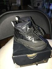 Jordan 1 Mid BT Size 8c Black On Black